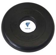 Диск обрезиненный черный MB ATLET d-51 2,5кг