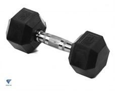 Гантель гексагональная обрезиненная Lite Weights 3184LW, 8кг
