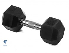 Гантель гексагональная обрезиненная Lite Weights 3185LW, 9кг