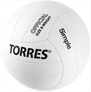 Мяч волейбольный TORRES SIMPLE, размер.5 арт.V32105