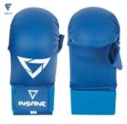 Накладки для карате с защитой пальца SCORPIO, ПУ, синий