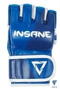 Перчатки для MMA EAGLE, ПУ, синий, M