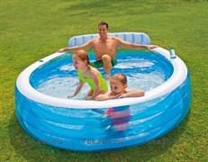 Бассейн Intex Swim Center 57190 Family Lounge