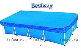 Тент для прямоугольных бассейнов 399х211см BestWay 58107