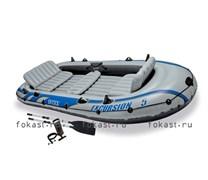 Надувная лодка excursion-5 SET (366X168X43) INTEX 68325