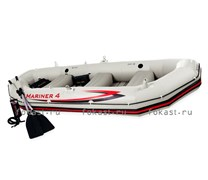 Надувная лодка Mariner-4 SET 328X145X48 INTEX 68376