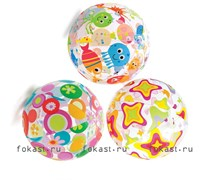 Надувной мяч Livelu 51см, от 3 лет, INTEX 59040
