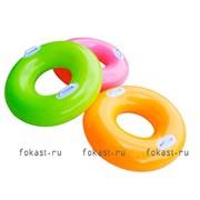 Надувной круг Hi-gloss 76см, от 8 лет, 3цвета, INTEX 59258