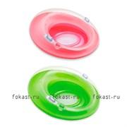 Надувной круг с ручками 119см, 2 цвета. INTEX 58883
