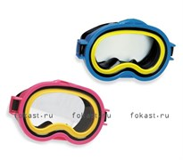 Маска для плавания Sea Scan, 2 цвета. INTEX 55913