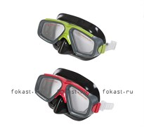 Маска для плавания Surf  Rider, 2 цвета. INTEX 55975