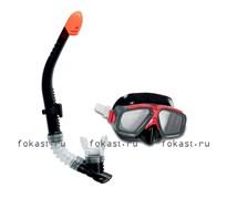 Набор маска с трубкой Surf Rider. INTEX 55949