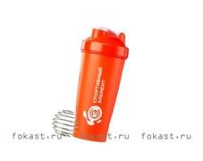 Спортивный шейкер Гранат S01-600, оранжевый
