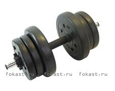 Гантель сборная Lite Weights 10 кг х 1шт 3103CD