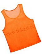 Манишка сетчатая юношеская, оранжевая