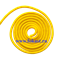 Скакалка для художественной гимнастики RGJ-104, 3м, жёлтый - фото 11861