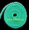 Скакалка для художественной гимнастики RGJ-104, 3м, зелёный - фото 11863