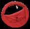 Чехол для обруча с карманом D 650, красный - фото 11908