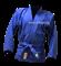 Куртка для самбо Green Hill JS-302, синяя - фото 12091