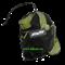 Тренировочные петли FA-701, черный/зеленый - фото 12371