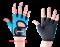Перчатки для фитнеса STARFIT SU-107, синий/черный - фото 12624