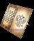 Нарды средние, с деревянными с шашками, тонированные - фото 12656