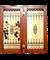 Нарды средние, сувенирные, кожаные, в чехле - фото 12668