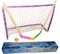 Хоккейный набор (2 клюшки детск. + шайба + мячик + ворота с сеткой) в коробке. 05-21 - фото 12765