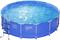 "Каркасный бассейн ""SummerEscapes"" P20-1352-Z +лестница, тент, подстилка (396х132) - фото 13949"