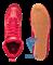 Обувь для бокса PS006 низкая, красный Green Hill - фото 15310