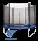 Батут c сеткой TR-201 183 см, синий - фото 15408