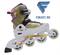 Коньки роликовые раздвижные Action PW-117N (система Parallel Wheels) - фото 15429