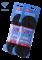 Шнурки для коньков с пропиткой W918, пара, 2,44 м, черные - фото 16200