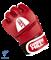 Перчатки для MMA Combat Sambo MMR-0027, к/з, красные - фото 16332