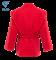 Куртка для самбо JS-302, красная, р.4/170 - фото 16612