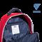 Рюкзак Double bottom JBP-1903-291, красный/темно-синий/белый, L - фото 16632