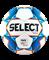 Мяч футзальный Futsal Mimas 852608 №4, белый/синий/оранжевый/черный - фото 17017