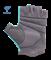 Перчатки для фитнеса SU-127, мятный/серый Starfit - фото 17273