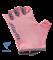 Перчатки для фитнеса SU-127, розовый/серый - фото 17275