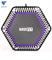Батут TR-401 122 см с держателем фиолетовый BaseFit - фото 17740