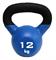 Гиря чугунная с виниловым покрытием SportElite 12 кг - фото 18390