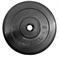 Диск обрезиненный черный MB ATLET d-31 10кг - фото 18553