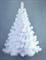 Ель искусственная Настенная белая 0.9 м - фото 18617