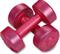 Гантели виниловые 2 х 1,5кг, фиолетовый - фото 18626