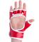 Перчатки для MMA Combat Sambo MMR-0027, к/з, красные - фото 19242